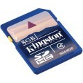 Kingston sd kort 8 gb