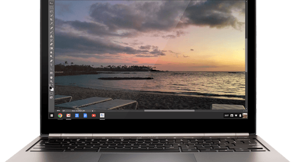 Stream Adobe Photoshop på din Chromebook
