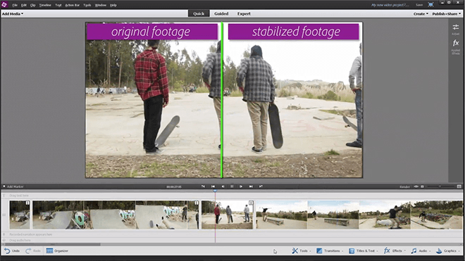 Adobe Premiere Elements 13 videoredigeringsprogram