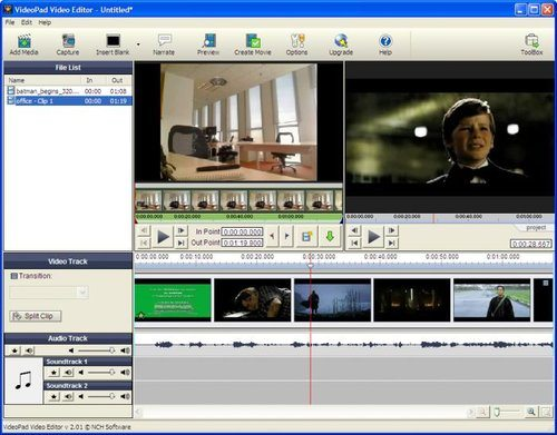 filmredigeringsprogram gratis pc