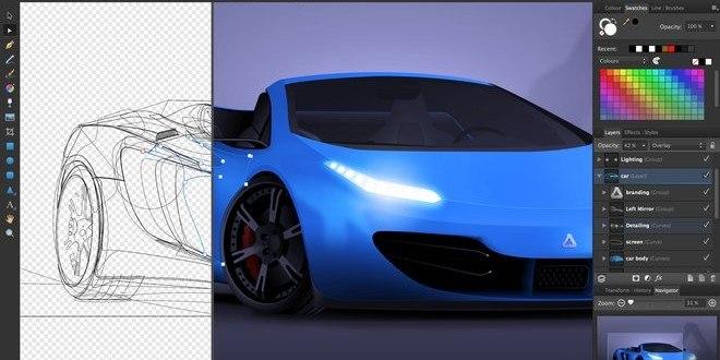 Affinity Photo: Nyt Photoshop alternativ til Mac brugere